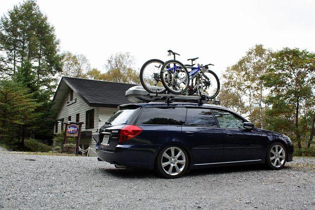 の通り、オーナーさんは自転車 ...